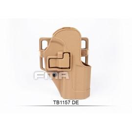 FMA Fondina rigida tipo Serpa per HK USP Compact DE