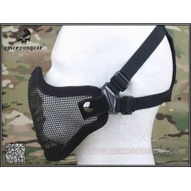 EMERSON Strike steel half face mask BK