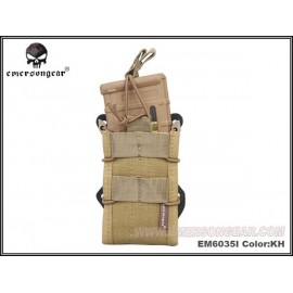 Emerson Gear Double Modular Rifle Magazine Pouch khaki