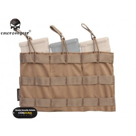 EMERSON 5.56 TRIPLE OPEN MAGAZINE TOP POUCH CB