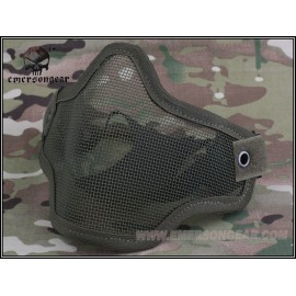 EMERSON Strike steel half face mask OD