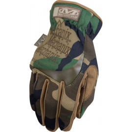 Mechanix Fast Fit Gloves Camo-Woodland