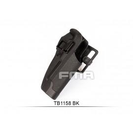 FMA CQC HARD PLASTIC HOLSTER M92 BK