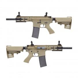 King Arms M4 TWS M-LOK CQB Ultra Grade II -DE