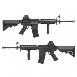 King Arms M4 RIS SOPMOD