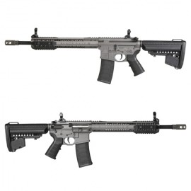 "King Arms Black Rain Ordnance Carbine 12"" - Gun Metal Grey"