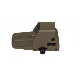 WeTech 887 Holo Sight FDE Red/Green