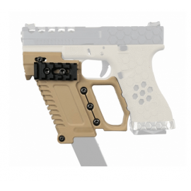 TT G-KRISS PISTOL KIT CONVERSION PER SERIE GLOCK TAN