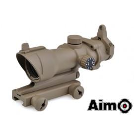 Aim-O Aco-g 4x32 con reticolo illuminato Rosso/Verde Desert
