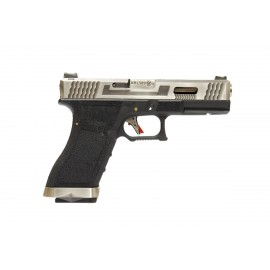 WE G17 Gen.4 Custom Silver Slide/Black
