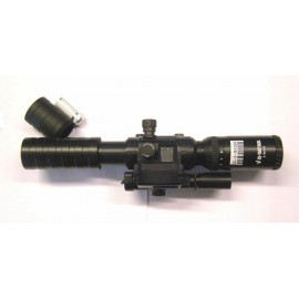 JS TACTICAL 3-9x32 optics with laser pointer and internal level