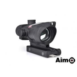 Aim-O ACOG 1x32 Red Dot Fiber Black