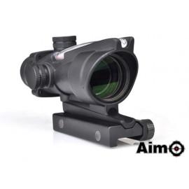 AIM-O Aco-g 4x32C Black Con fibra ottica funzionante