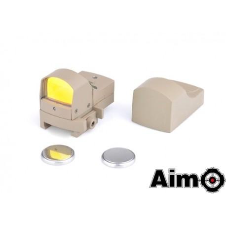 AIM-O Micro Reflex Red Dot Desert