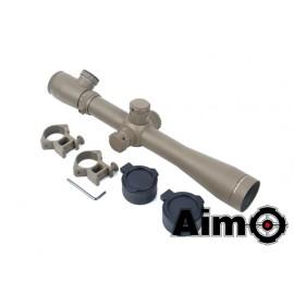 Aim-O 3.5-10x40E-SF Sniper Rifle Scope Red/Green