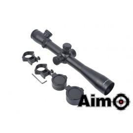 Aim-O Ottica 3.5-10x40 Illuminata Rosso/Verde Nero