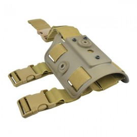 WOSPORT THIGH HOLSTER ADAPTER FOR 1° AND 2° VERSIONS FULLY ADJUSTABLE OD GREEN