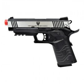 HFC Tactical 1911 GBB Silver/Black