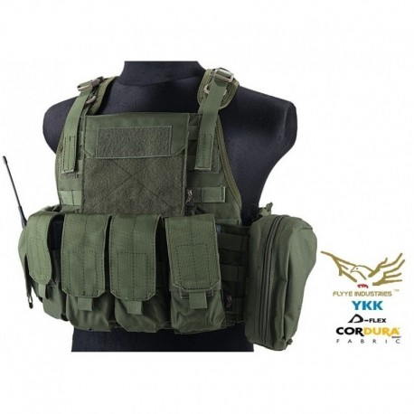 FLYYE Style PC Plate Carrier Con Pouch Set RG