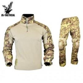 JS TACTICAL Warrior Combat Tactical Suit Vegetato Italiano