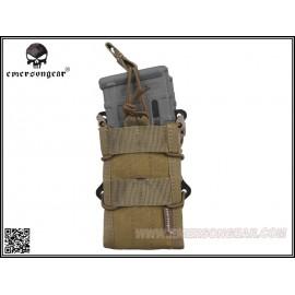 Emerson Gear Double Modular Rifle Magazine Pouch CB