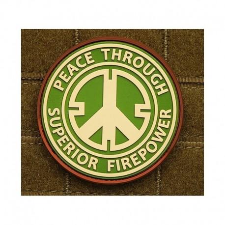 JTG Peace Rubber Patch MC