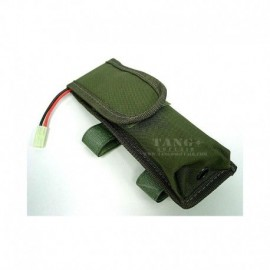 BATTLE AXE TASCA PORTACARICATORE O BATTERIA DA CALCIO OD GREEN