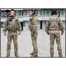 EMERSON NEW Combat Tactical Suit 2°Gen. Multicam