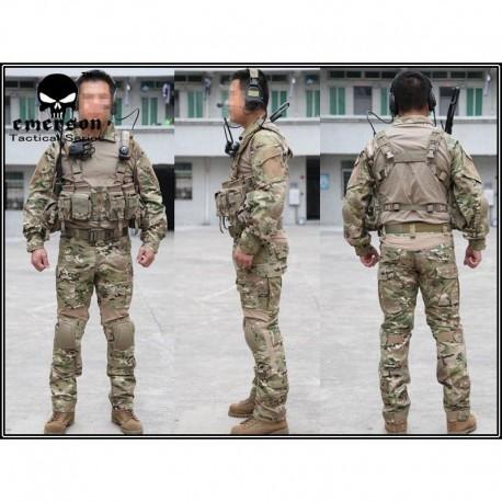 EMERSON NEW Combat Tactical Suit 2°Gen. Multicam