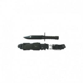 Baionetta M9 in acciaio con fodero in ABS