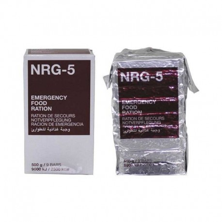 Razione d'emergenza NRG-5 500gr.