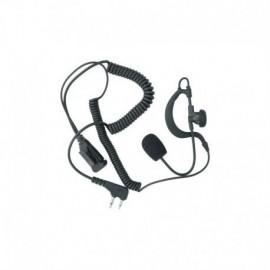 Midland Action Line auricolare/microfono con braccetto regolabile e PTT