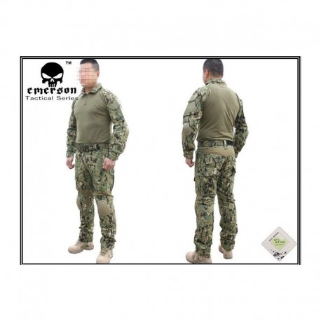 "EMERSON Combat Tactical Suit AOR2 ""WATER SHIELD"""