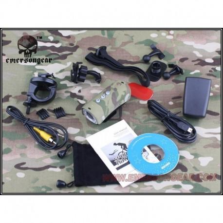 EMERSON Tactical Compact HD Action Cam Multicamo
