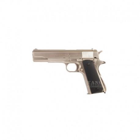 M1911 Government Silver Full Metal Scarrellante