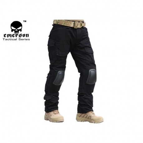 """Emerson"" Combat pants 2 gen. Black"