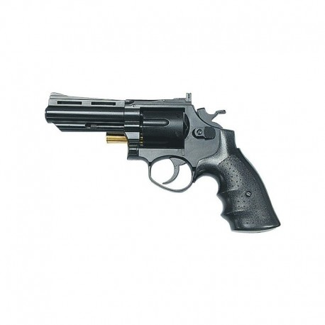 "Revolver .356 4"" Black a tamburo"
