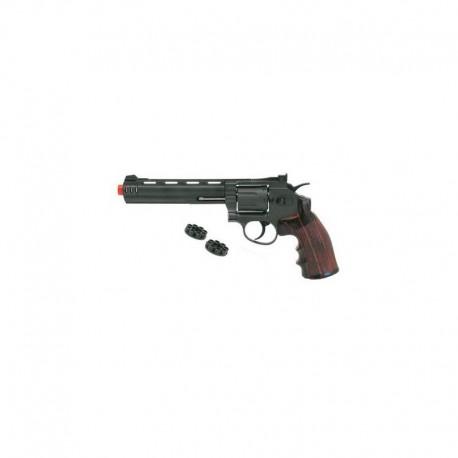 "Revolver .356 6"" Black a tamburo"