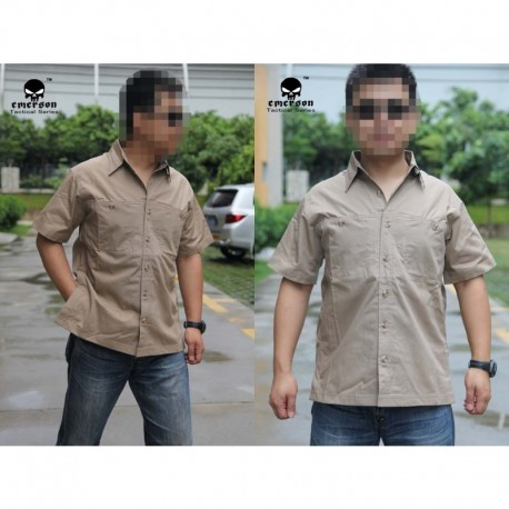 """EMERSON"" TACTICAL CASUAL SHIRT COYOTE"