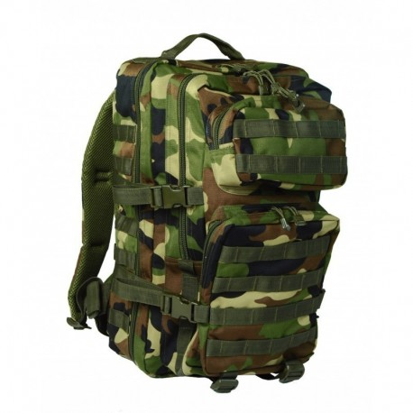 Mil-Tec Zaino Assault 3 days XL Woodland