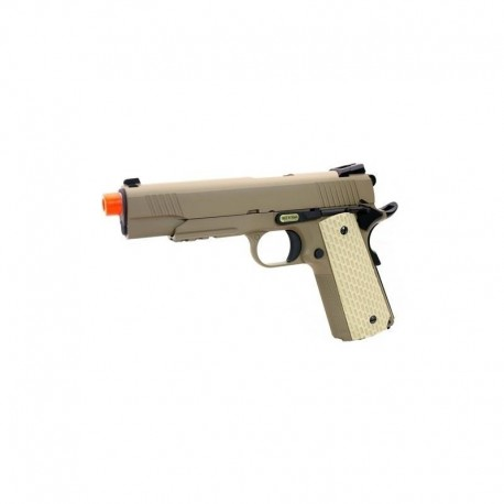WE 1911 Kimber style desert warrior tan a gas