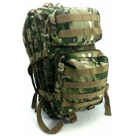 Mil-Tec Assault Backpack Multi-camo XL 3 days