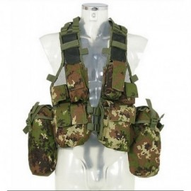 Mil-Tec Africa tactical vest Italian camo Vegetato
