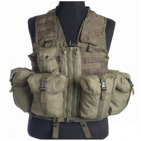Mil-Tec Tattico Hard Gear OD Green