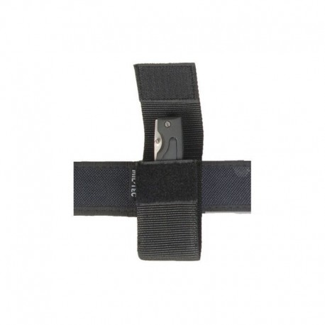 Mil-Tec Utility pouch portatorcia / portacoltello nera