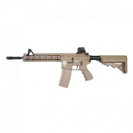 G&G M4 GR15 RAIDER XL TAN BLOWBACK