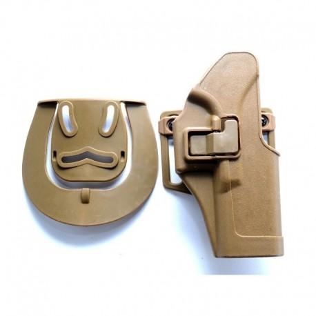 TANGO Tactical Fondina rigida tipo Serpa per Glock DE