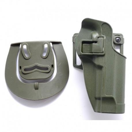 TANGO Tactical Fondina rigida tipo Serpa per PT92 / M9 / M92 OD Green