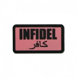 JTG Infidel  Rubber Patch pink