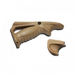 TT PTK + VTS grip kit (grip angolata + hand stop) TAN